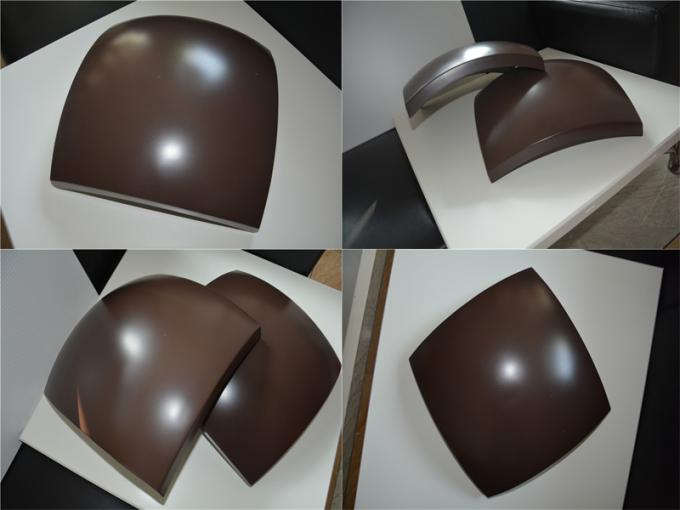 Unique Wave Designs Curved Aluminum Panels 1.5mm 2mm 2.5mm 3mm 4mm Thickness