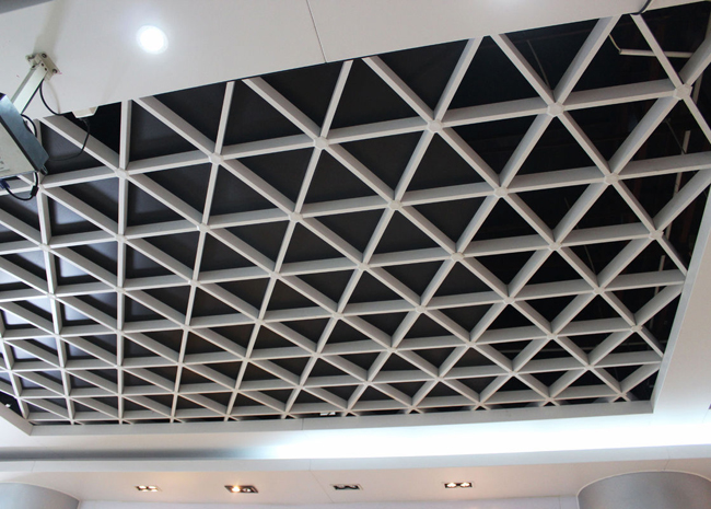 Customized Fabrication Open Cell Ceiling Tiles /  Aluminum Metal Grid Ceiling