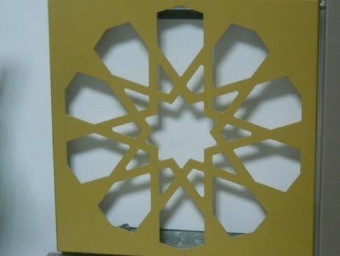 China PVDF Spray Coating Aluminum Decorative Panels OEM Available supplier