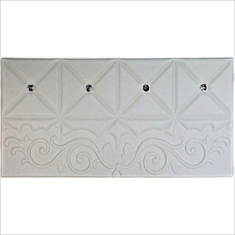 China Easy Install Leather Padded Wall Panels , Leather Wall Panel Room Decoration  supplier