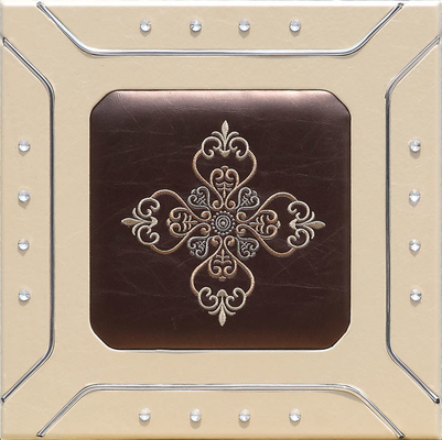 China Professional Sculpted Mdf  leather Wall Panels , Decorative Interior Panels 400*400mm supplier