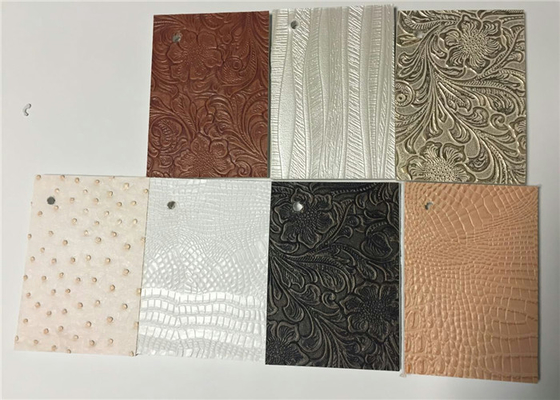 China Commercial Leather Wall Panels , Pvc Chair Rail For Home Decoration supplier