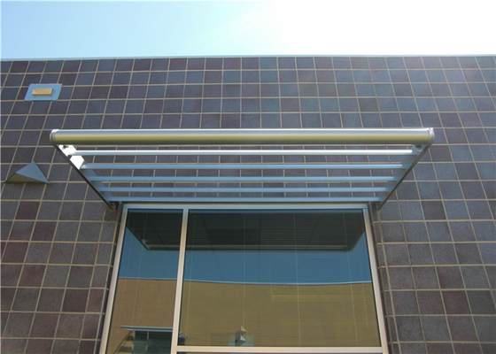 China Fashionable Waterproof Aluminium Sunscreens Louvres For Supermarket supplier