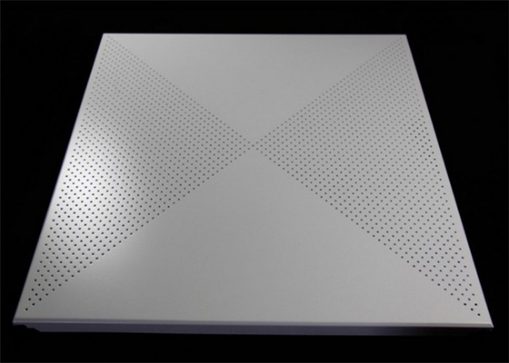 China Professional Perforated Aluminum Ceiling Tiles Weather Resistance supplier