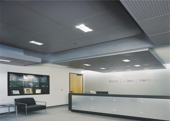 China Customized Perforated Aluminum Panels For Airports / Stations supplier