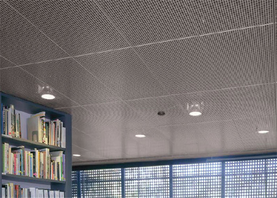 China Perforated Anodized Aluminum Panels With Sound Absorbing Material supplier