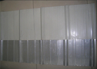 China Durable Perforated Metal Acoustic Panels , Perforated Aluminum Plate Na-View supplier