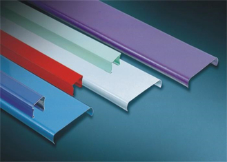 China S G Shaped Aluminium Strip Ceiling / Acoustic Suspended Ceiling  supplier