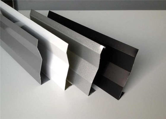 China Heat Insulation Aluminium Strip Ceiling Various Color / Sizes supplier