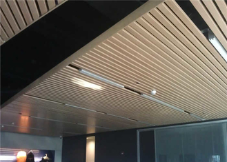 China Industrial  metal strip ceiling with ISO9001 approved supplier