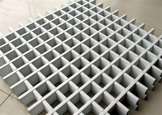 China Durable Aluminum Grid Ceiling , Open Grid Ceiling Easy Clean A-1102 supplier