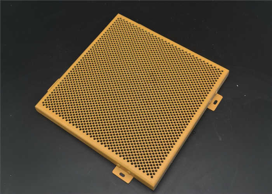China Environmental Perforated Brass Sheet , Perforated Aluminum Ceiling Panels  supplier