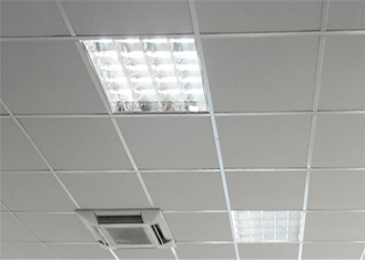 China Aluminum Suspended Ceiling Tiles Aluminum Square Ceiling Tiles 0.5 - 1.2mm Thickness supplier