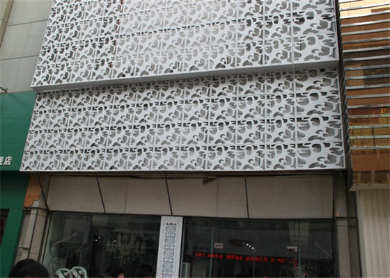 China Interior / Exterior Facade Aluminum Decorative Panels Carved Weather Resistance supplier