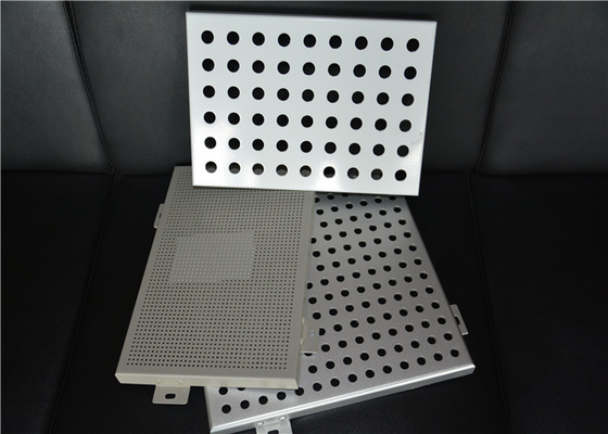 China Perforated Interior Decoration Aluminum Perforated Ceiling Panels Fireproof supplier