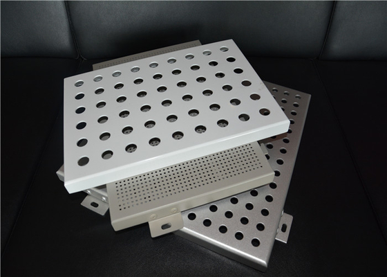 China OEM Laser Cutting Perforated Aluminum Sheet Metal Panels Acid - Resistant supplier
