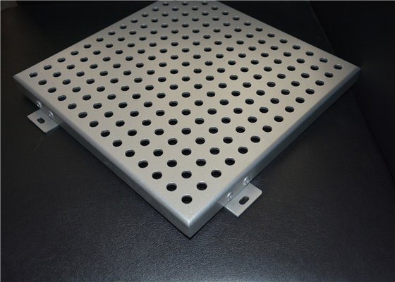 China Home Decorative Aluminum Perforated Ceiling Panels For Building Materials supplier