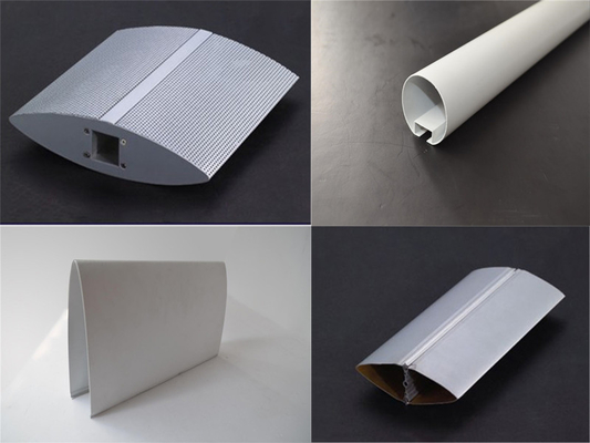 China Excellent UV resistance Aluminum Sun Shades for building , air port , bus station supplier