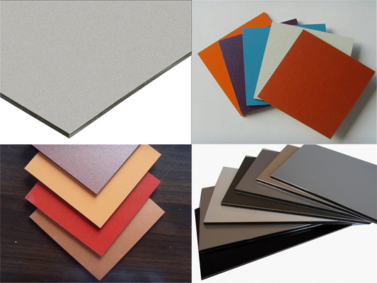 China Outdoor Aluminum Composite Panel For Interior and Exterior Walls , Ceilings Decoration supplier