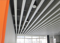 Fireproof Indoor Decoration Aluminium Strip Ceiling Anodic Oxidation Surface