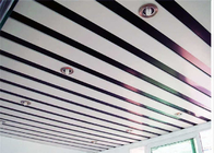 Na-View Metal Linear Ceiling Panels , Aluminium Ceiling Strips Soundproofing
