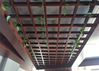 China Moisture Proof Open Cell Ceiling With  Various Type For Indoor company