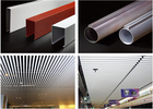 Excellent Aluminum Tube Metal Baffle Ceiling Waterproof For Home / Hotel / Opera