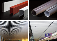Good Quality 3D Leather Wall Panels & Excellent Aluminum Tube Metal Baffle Ceiling Waterproof For Home / Hotel / Opera on sale