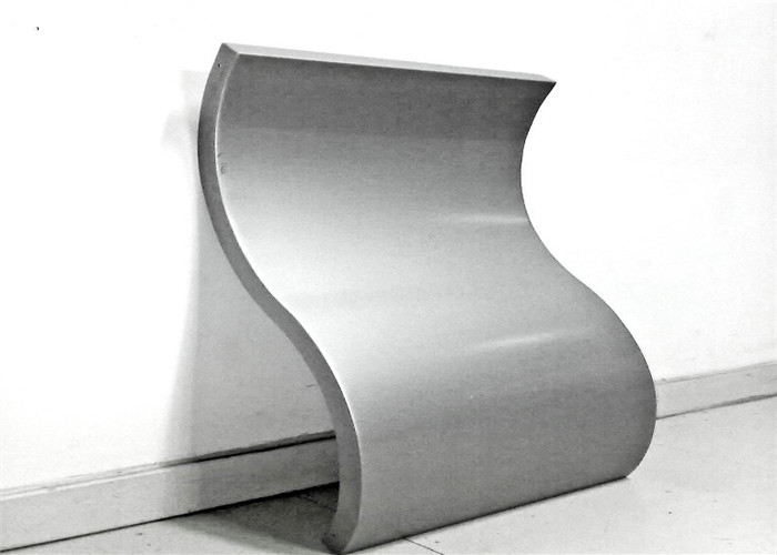 Fireproof 1.5mm Railway Station Curved Aluminum Panels