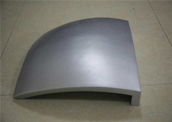 China 3mm White Curved Roof Panels , Aluminum Composite Roof Panels Fireproof factory
