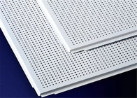 Various Size Perforated Aluminum Panels Square Shape Easy Install