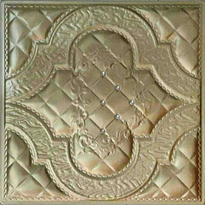 Leather Carving pvc 3d plastic panels extrusion profiles price wall panels