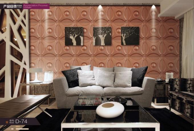 wall fashion wallpaper Guangdong Texture Interior Decorative Customized Eco-friendly