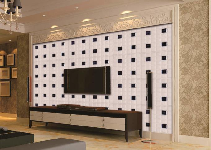 Professional Leather 3d Decorative Wall Panels Home Accessories