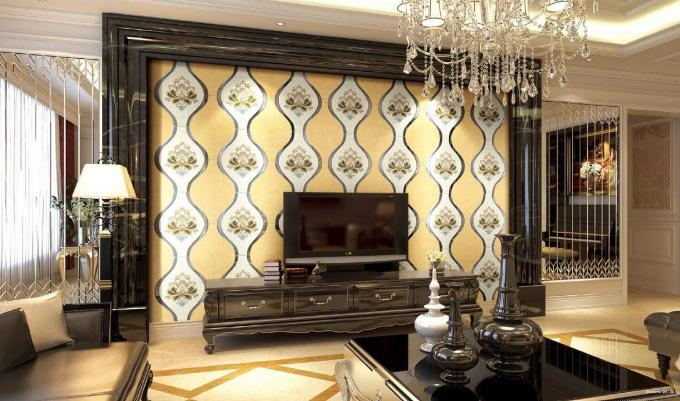 12mm Thickness Mdf Decorative Wall Panels For Living Room Various Color