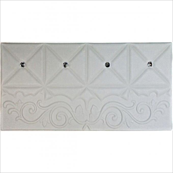Easy Install Leather Padded Wall Panels , Leather Wall Panel Room Decoration