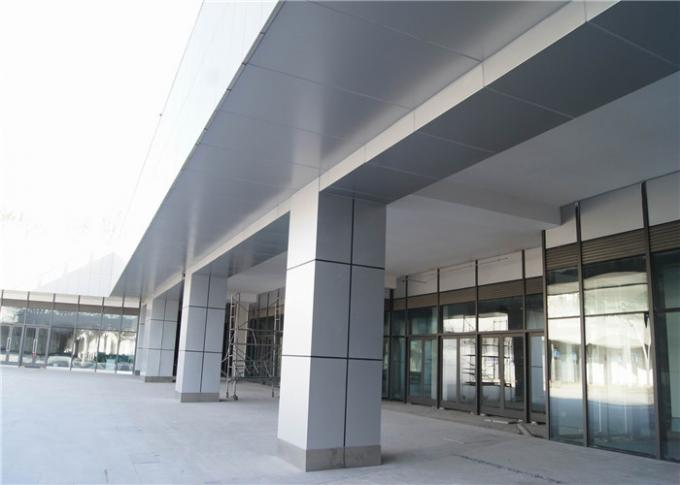 PVDF Coating Aluminum Curtain Wall For Indoor / Outdoor 1220mm*2440mm