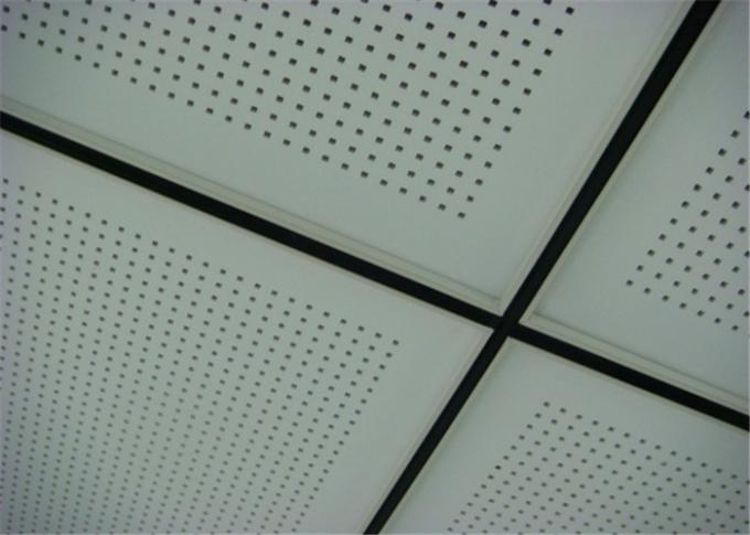 Professional Perforated Aluminum Ceiling Tiles Weather Resistance