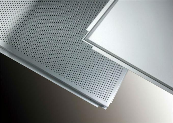 Perforated Anodized Aluminum Panels With Sound Absorbing Material