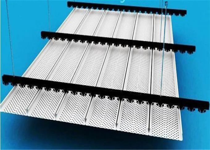 Aluminium Alloy Metal Strip Ceiling with Good Weather Resistance