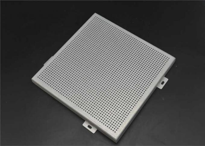 Environmental Perforated Brass Sheet , Perforated Aluminum Ceiling Panels