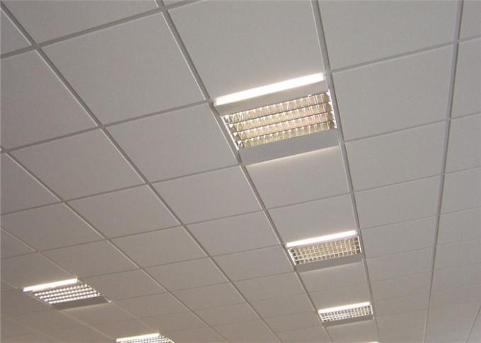 Aluminum Suspended Ceiling Tiles Aluminum Square Ceiling Tiles 0.5 - 1.2mm Thickness