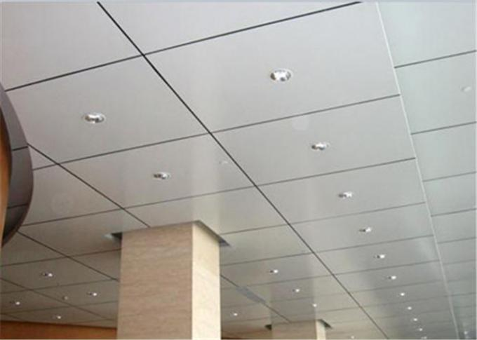 Fireproof Aluminum Suspended Ceiling Tiles Acoustical For Office / Conference Room