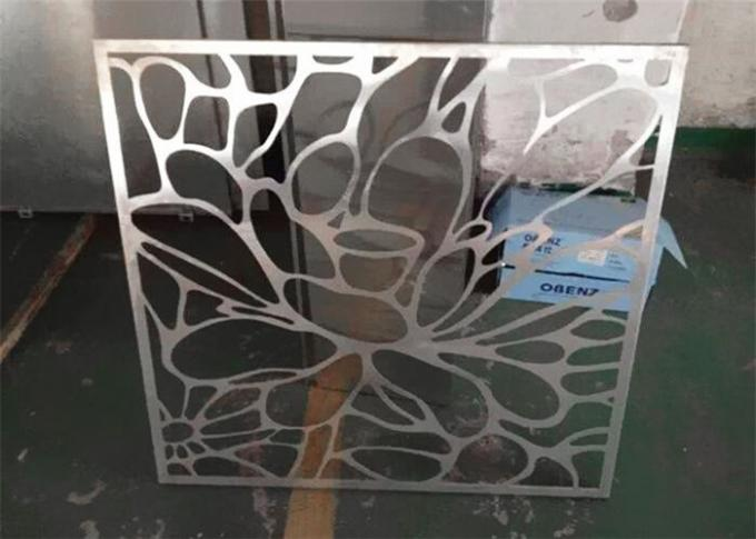 Perfect Cutting Customized Aluminum Decorative Panels Acid Bearable Spray Painted