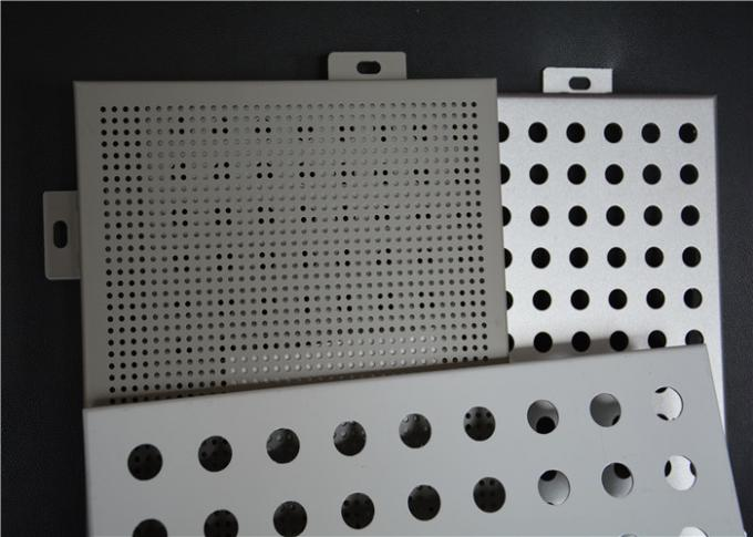 Perforated Interior Decoration Aluminum Perforated Ceiling Panels Fireproof