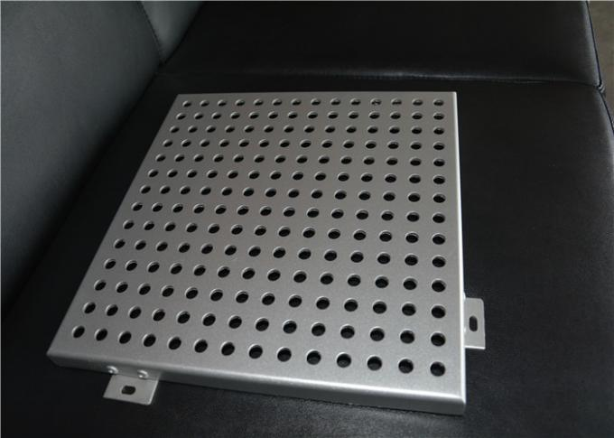 Perforated Metal Ceiling Tiles Perforated Aluminum Panels Square / Rectangle
