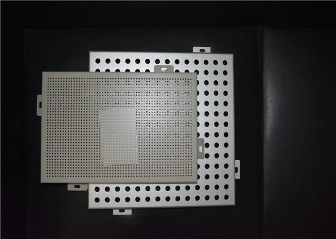 OEM Laser Cutting Perforated Aluminum Sheet Metal Panels Acid - Resistant