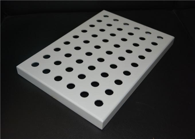 Perforated Acoustic Fireproof Aluminum Decorative Panels For Outdoor Building