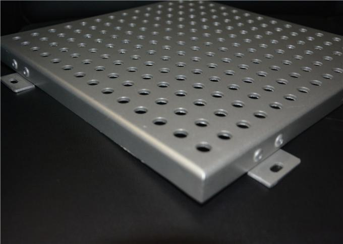 Balustrades / Facades Perforated Aluminum Panels For Construction ISO Certification
