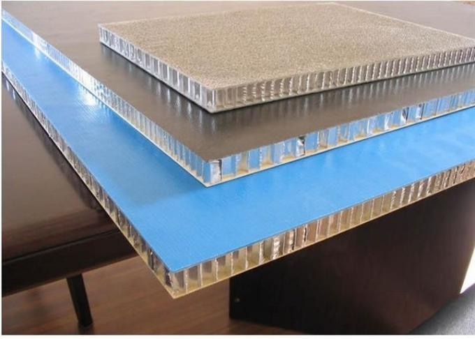 Exterior Honeycomb Aluminum Panels / Honeycomb Aluminum Sheet Sound Proof